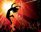 foto of club party  - festive party - JPG