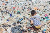 Children Find Junk For Sale And Recycle Them In Landfills, The Lives And Lifestyles Of The Poor, The poster