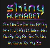 Shiny Alphabet