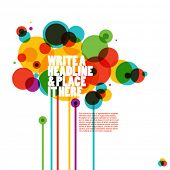 picture of funky  - funky colorful design - JPG