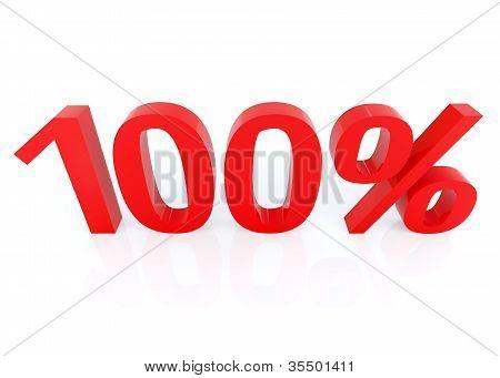 You get 100 %