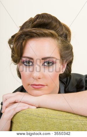Portrait Of A Glamorous Model