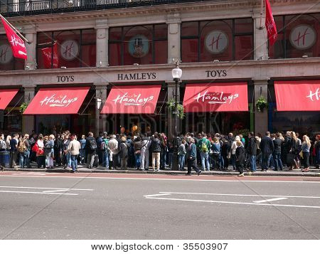Hamleys Toy Shop, London