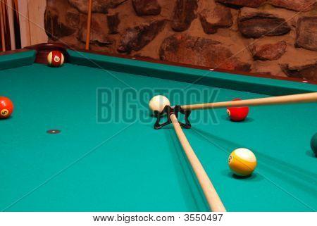 15 Ball In The Corner Pocket