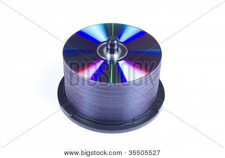 Cd Disks Pile