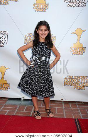 LOS ANGELES - 26 de julho: Lauren Boles chega em 2012 Saturn Awards em competidores em 26 de julho de 2012