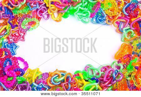 Loops strap plastic