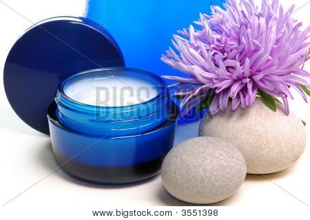 Blue Cosmetic Cream