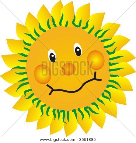 Sunflower Smiling