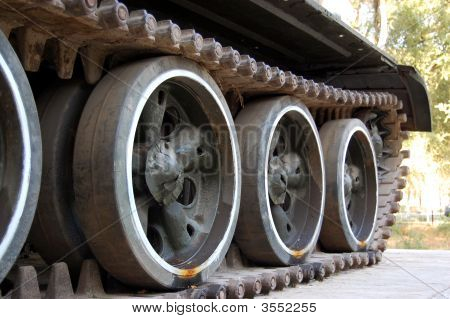 Russian T-72 Tank Tread