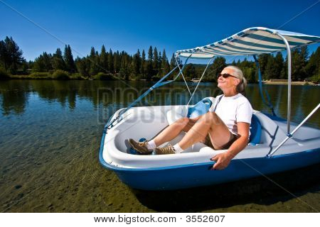 Woman Boating