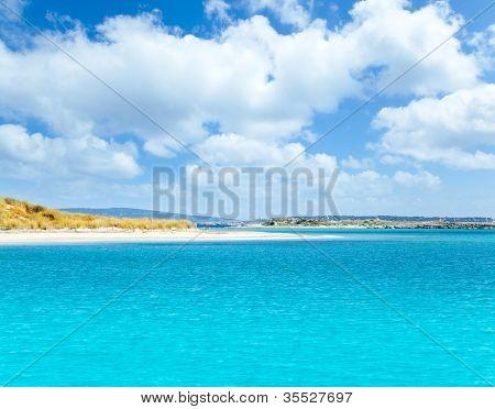 Formentera island in Espalmador Freu Poco in es Trucadors Adolf