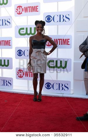 LOS ANGELES - JUL 29:  Shanola Hampton arrives at the CBS, CW, and Showtime 2012 Summer TCA party at Beverly Hilton Hotel Adjacent Parking Lot on July 29, 2012 in Beverly Hills, CA