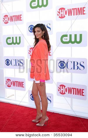 LOS ANGELES - JUL 29:  Daniela Ruah arrives at the CBS, CW, and Showtime 2012 Summer TCA party at Beverly Hilton Hotel Adjacent Parking Lot on July 29, 2012 in Beverly Hills, CA