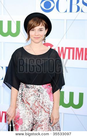 LOS ANGELES - JUL 29:  Ren�©e Felice Smith arrives at the CBS, CW, and Showtime 2012 Summer TCA party at Beverly Hilton Hotel Adjacent Parking Lot on July 29, 2012 in Beverly Hills, CA
