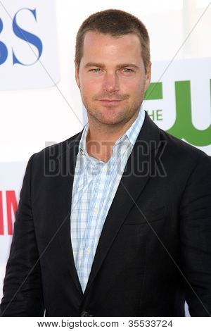 LOS ANGELES - JUL 29:  Chris O'Donnell arrives at the CBS, CW, and Showtime 2012 Summer TCA party at Beverly Hilton Hotel Adjacent Parking Lot on July 29, 2012 in Beverly Hills, CA