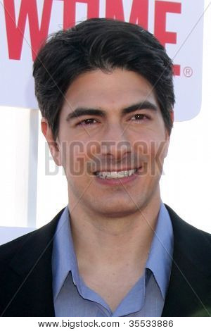 LOS ANGELES - JUL 29:  Brandon Routh arrives at the CBS, CW, and Showtime 2012 Summer TCA party at Beverly Hilton Hotel Adjacent Parking Lot on July 29, 2012 in Beverly Hills, CA
