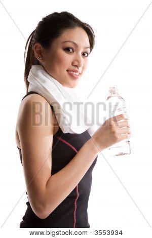 Asian Girl Exercise