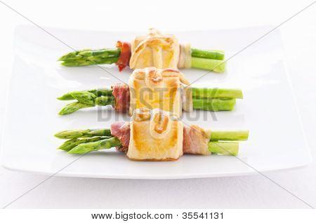 Green Asparagus tapas