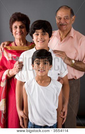 Grandma Grandpa And Us