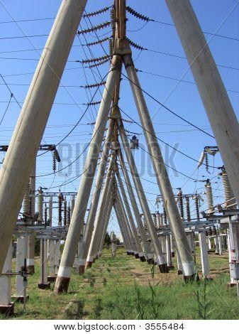 Subestación eléctrica de electricidad
