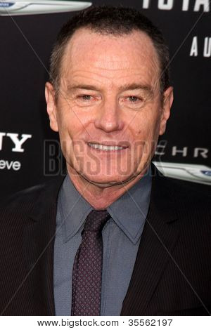 LOS ANGELES - AUG 1:  Bryan Cranston arrives at the