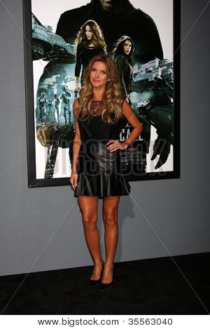 "LOS ANGELES - AUG 1:  Audrina Patridge arrives at the ""Total Recall"" Premiere at Graumans Chinese Theater on August 1, 2012 in Los Angeles, CA"