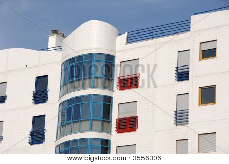 Modern Colorful Residential Building