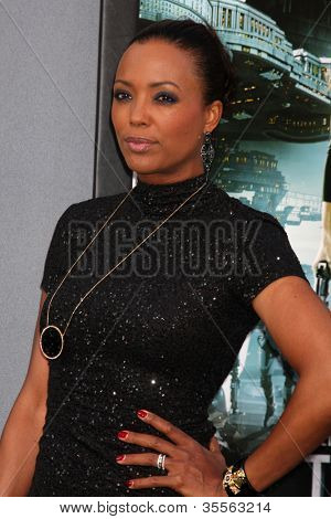 LOS ANGELES - AUG 1:  Aisha Tyler arrives at the