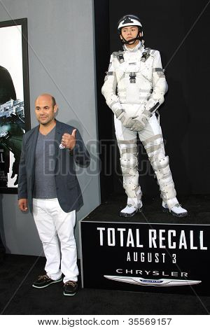 LOS ANGELES - AUG 1: Ian Gomez, Total Recall character at the Los Angeles Premiere of 'Total Recall' at Grauman's Chinese Theater on August 1, 2012 in Los Angeles, California