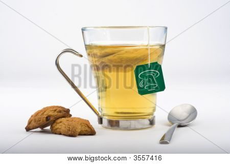 Heat Glass Of Tea