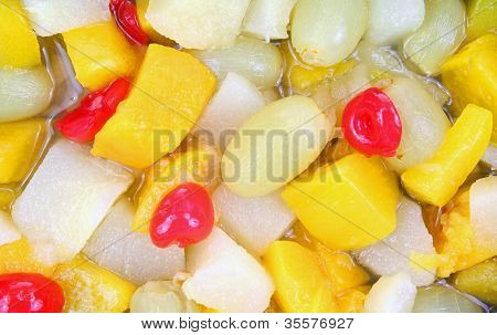 Fruit Chunks Up Close