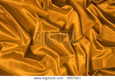 Gold Satin Background