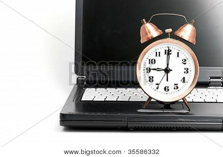 tiro de oficina trabajo en relación con la eficiencia de tiempo.