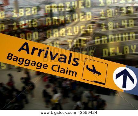 Aeroporto-chegadas