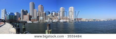 Boston Water Front Panorama