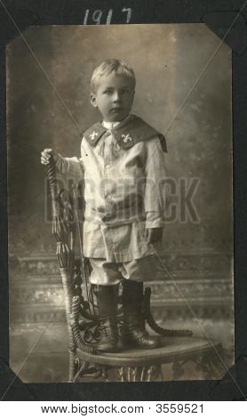 Vintage 1905 Family Photo