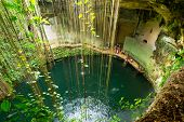 stock photo of cenote  - Ik - JPG