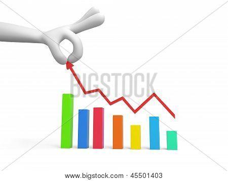 Chart, line graph