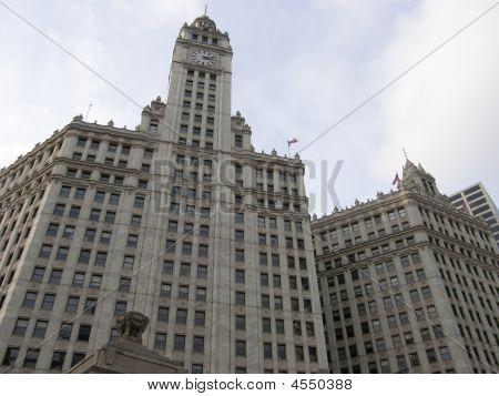 Tribune Tower In Chicago