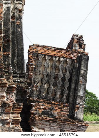 Tear Off Stupa, Ayutthaya, Thailand