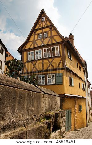 Rothenburg Ob Der Tauber, Old House