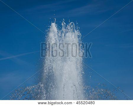 Water Splash In Fountain