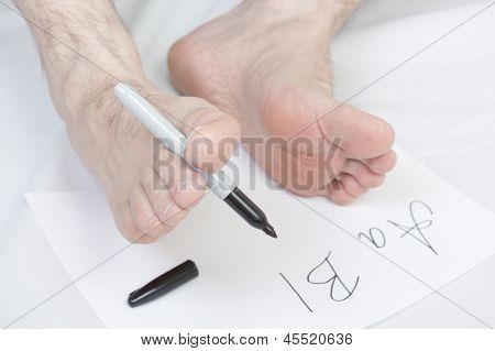 Nonconformist Handwriting.