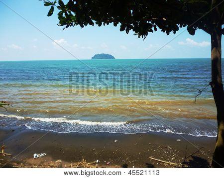 mandalika beautiful beach