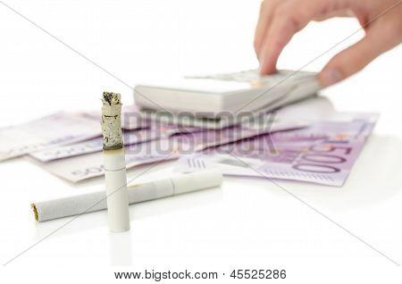 Expensive Smoking Habit