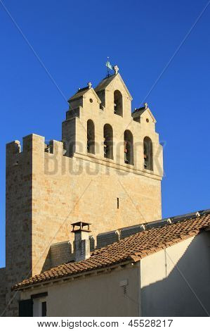 Church Of Saintes-Maries-de-la-mer, France