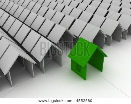 Green House Real Estate Home