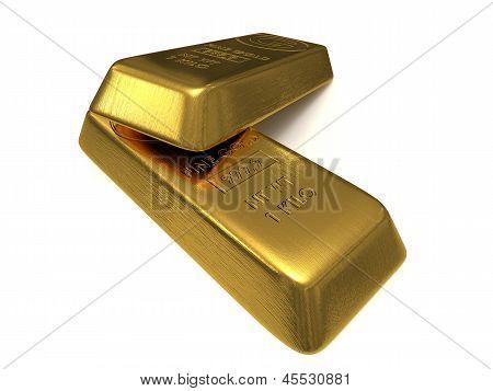 Two Golden Bars