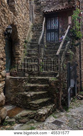 Bussana Vecchia, Liguria, Italy